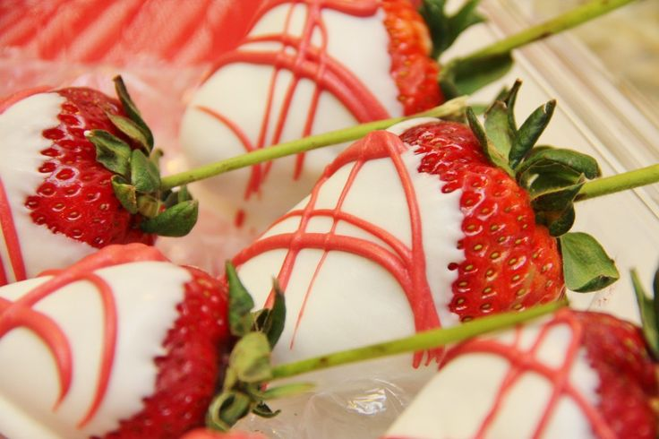 White Chocolate Covered Strawberries - Around My Family Table