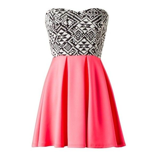 Buy The Strapless Tribal Skater Dress for only $29.00 Browse the UsTrendy catalog for the latest trends in indie fashion!