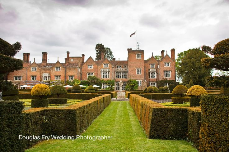 Great Fosters wedding photograph of the house.
