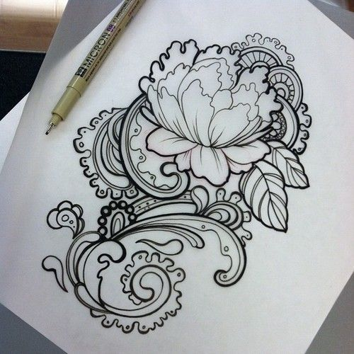Lace Drawing tattoos and Tattoo images on Pinterest