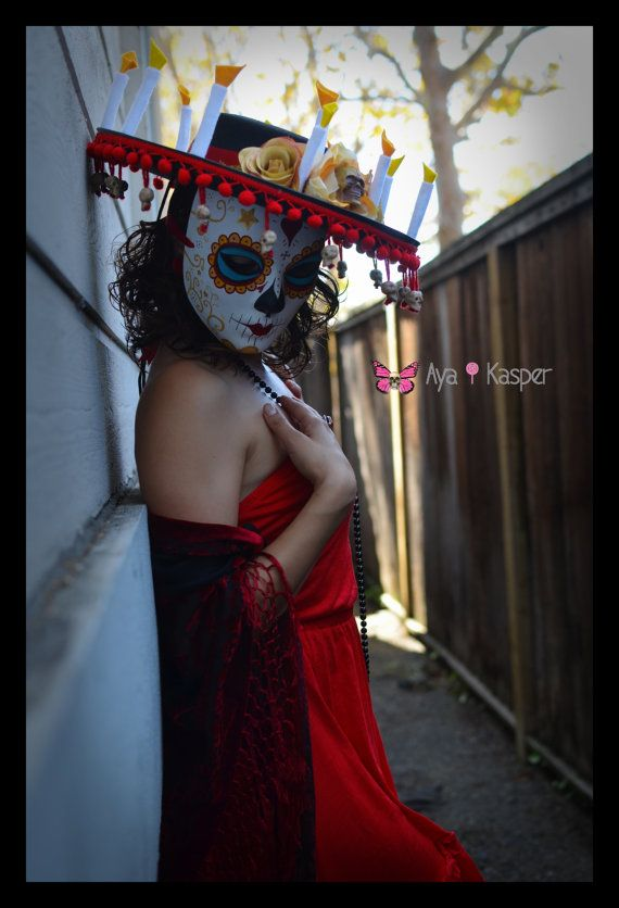 La Muerte The book of Life Mask & Hat Ready to by ...