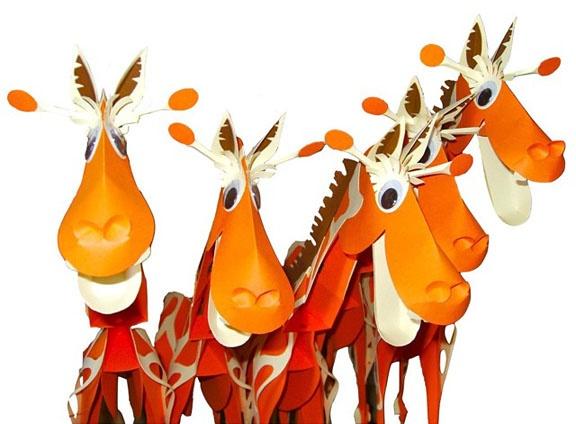 debbie keates: giraffes - Handels Court Gallery