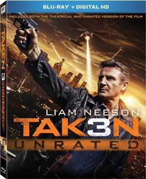 New DVDs and Blu-rays: Taken 3 (Liam Neeson) and Cake (Jennifer Aniston, Sam Worthington, Anna Kendric)