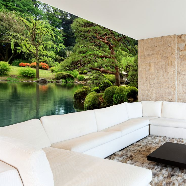 Típico jardin nipon