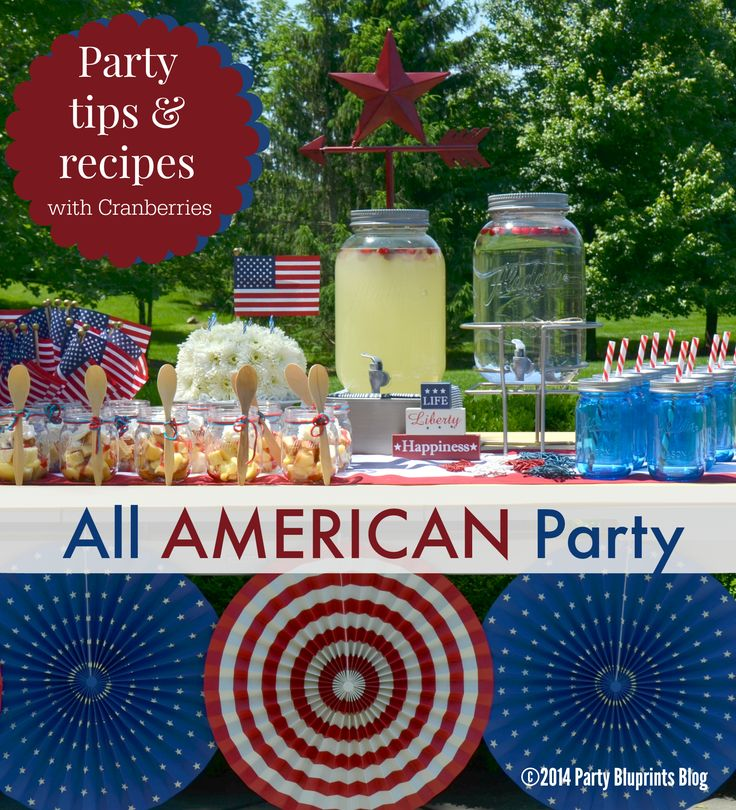 4th of july birthday party ideas