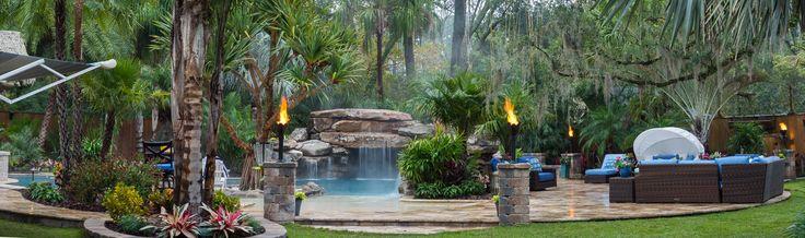 Jacksonville Custom Pool Grotto Lagoon 3 Insane Pools Dream Pools Custom Pools