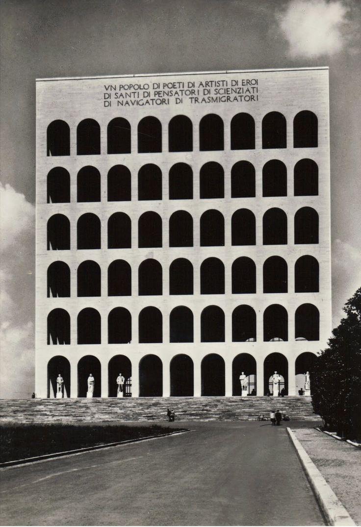 icancauseaconstellation:     Adalberto Libera, Palazzo della Civiltà Italiana, Roma viapostalesinventadas