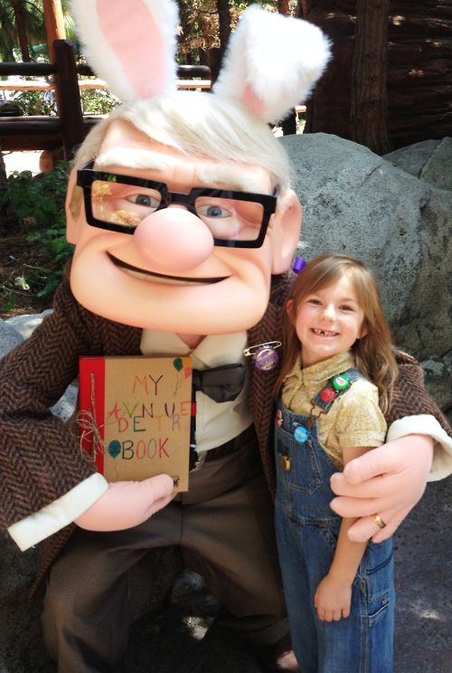 Carl Fredricksen and young Ellie after browsing through ...Young Carl And Ellie Disneybound