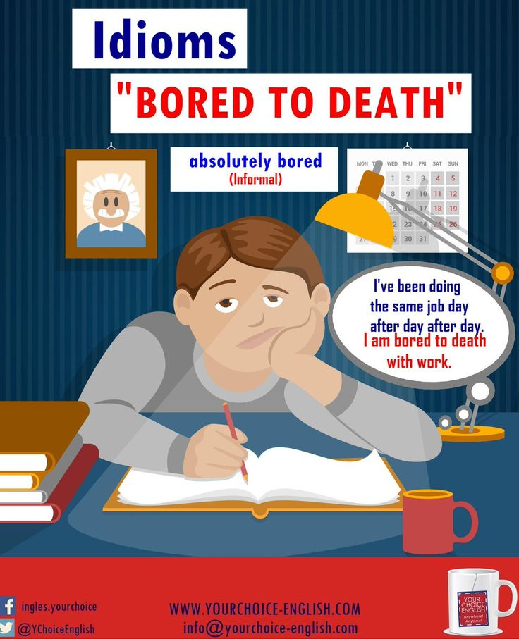 Idioms - Bored to Death