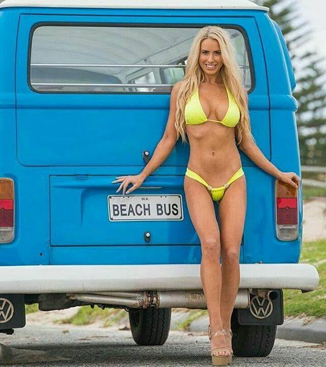 Beetle Camper Van >> Friday Pin Ups & Sexy Ink www.hotrodzpinups.com   Volkswagen Transporter T1 Bulli T2 Ogórek ...