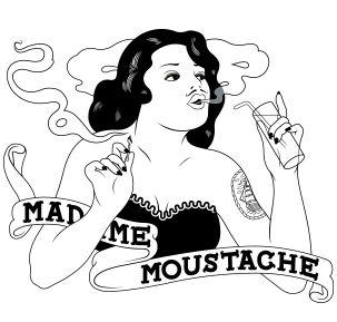 Madame Moustache. The place to be voor hippe toeristen! Zeker een aanrader om eens een stevig feestje te houden!