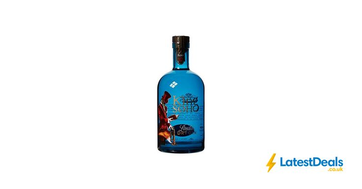 The King of Soho Gin, 70 cl Free Delivery, £24.99 at Amazon UK