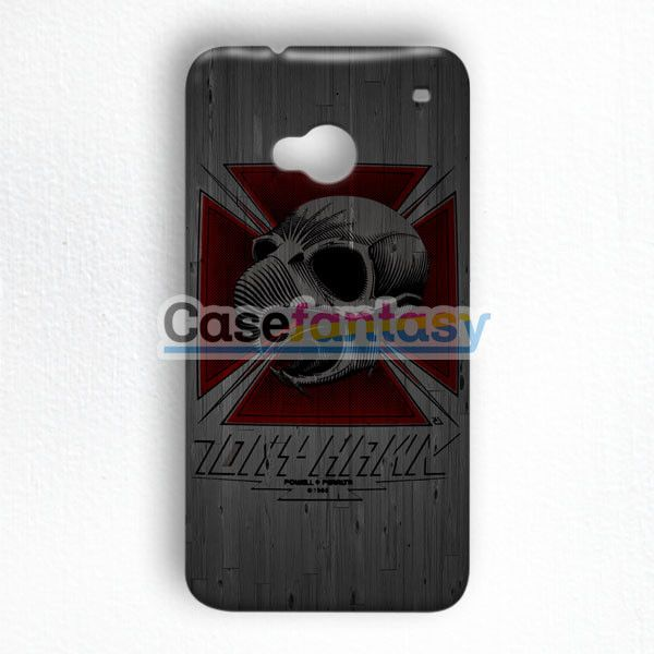 Tony Hawk Skateboard Skull Garden Logo HTC One M7 Case | casefantasy