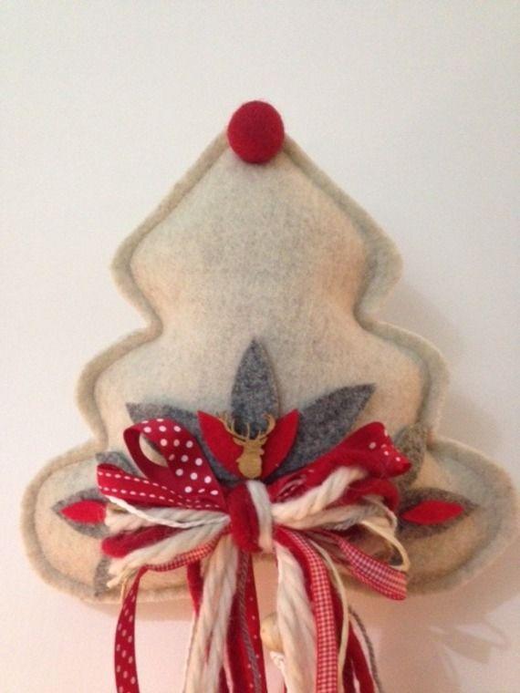 Oltre 1000 idee su puntale di albero fai da te su - Decorazioni natalizie albero fai da te ...