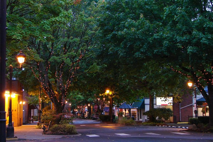 Downtown Camas, Washington