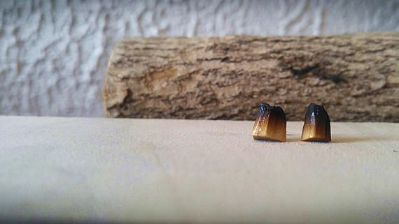 Wooden earrings for nature and wood lovers. Volcanoe mountains for you to wear. Click to see more details and designs.