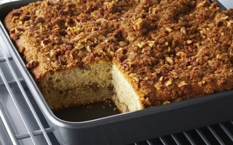 Sour Cream Pecan Coffee Cake Recipe by Anna Olson