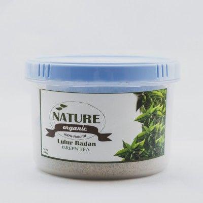 Lulur Badan: Green tea -  320gr Kandungan Vit C & E pada GREEN TEA serta kemampuannya sebagai antioksidan, dipercaya mampu mengimbangi radikal bebas sehingga memperlambat proses penuaan & kulit keriput, serta membuat kulit nampak lebih segar & cerah. Manfaat lain dr lulur green tea ini adalah dapat menyamarkan noda/bekas luka di kulit. Wangi lembut green tea & susu murni membuat kita merasa relax. *Komposisi :Oat, Green tea, Rice flour, Milk, honey & lemon