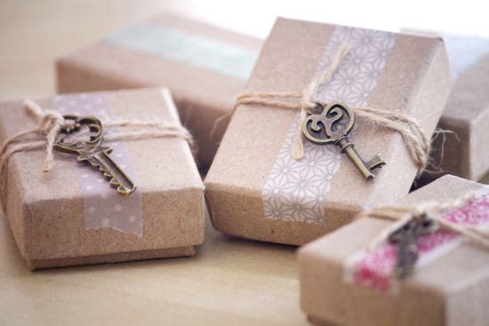 creative packaging / gift wrapping