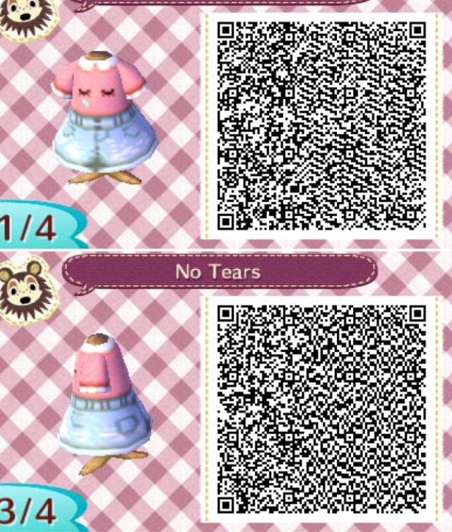 No Tears 1 ⭐️animal Crossing Qr Codes⭐️ Animal