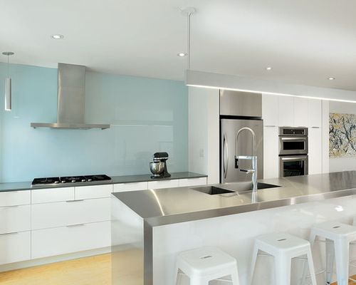 Back Painted Glass Backsplash Ideas, Pictures, Remodel And Decor