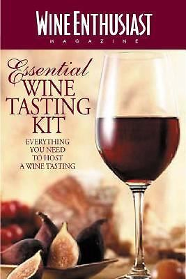The Wine Enthusiast Essential Wine Tasting Kit Everything Needed to Host NEW