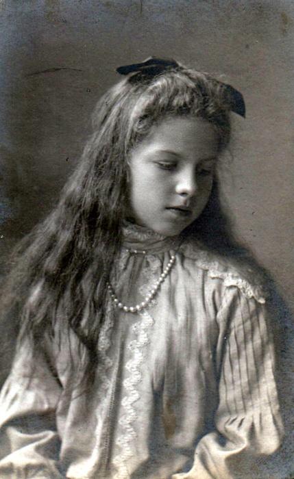 Princess Helen of Greece and Denmark, future Queen of Romania.