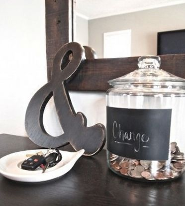 Change Jar - 111 20 Unique Home Organizing Ideas with Pictures!