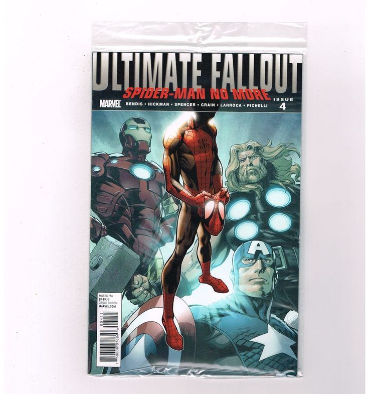 ULTIMATE FALLOUT #4 Key issue: 1st MILES MORALES! Grade 9.4! STILL SEALED!  http://www.ebay.com/itm/-/301956830003?roken=cUgayN&soutkn=8lS57k