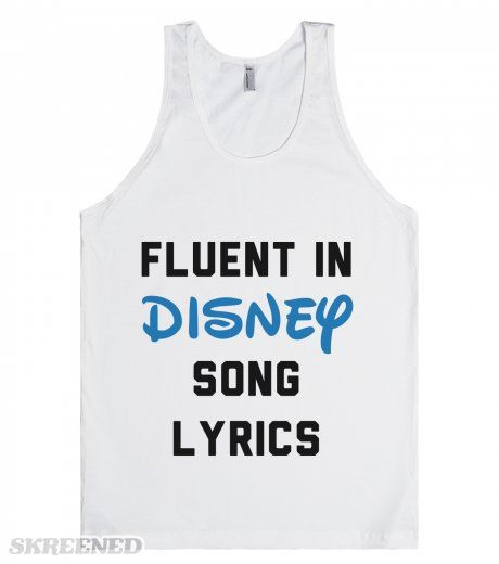 Fluent In Disney Song Lyrics | I know every Disney song by heart. I am a master of disney song lyrics. 100% Fluent in Disney song lyrics. Whether it's Into The Woods or The Jungle Book, whatever musical number, I know it. #Skreened