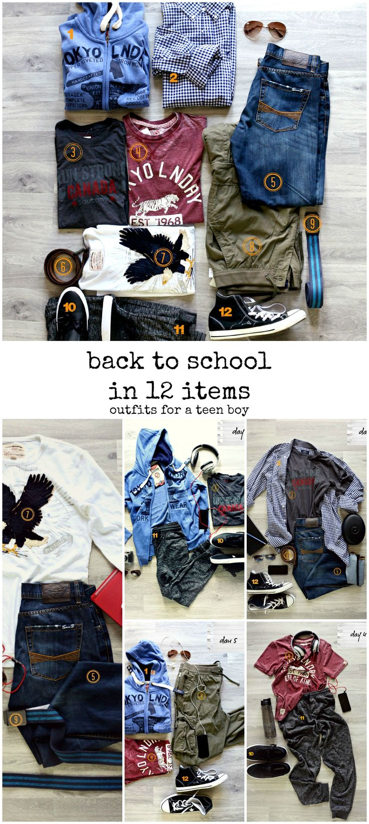 Craftberry Bush | Back to School for Tween/Teen Boys in 12 Items and a giveaway | http://www.craftberrybush.com