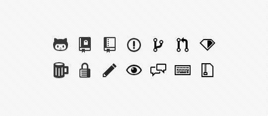 github new icon set