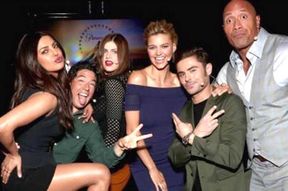 """Priyanka Chopra is cheerful about her Hollywood co-stars Dwayne Johnson and Zac Efron coming to India to promote the new Baywatch film. In a current meeting to Bombay Times, PeeCee was cited as saying, """"I want to be the producer of the film! I think we have limited time for promotions even Dwayne Johnson has…"""