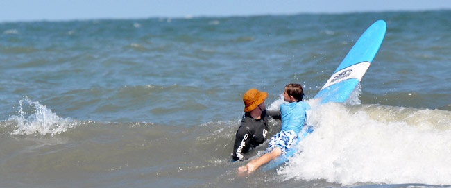 Surf Lessons on Hilton Head Island, South Carolina | Palmetto Dunes