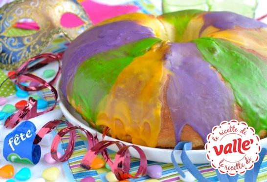King Cake, Carnevale a New Orleans! E' una torta insolita, buonissima e ricca di storia! Chi ne vuole una fetta?