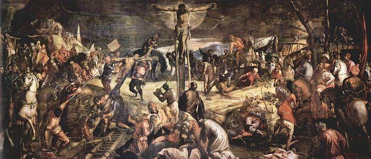 Crocifissione-Tintoretto (San Rocco)