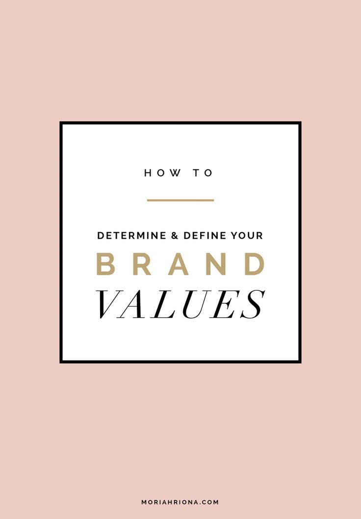 Finding Your Brand Voice    Branding and Design for Photographers and Creative Entrepreneurs by Moriah Riona    How to Determine and Define Your Brand Values