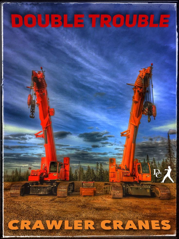 Bring On The Noise: Crawler cranes with booms move very heavy loads safely and economically. Telescopic crawler cranes are flexible in use and require very short set-up times. Plus they are cool as hell!