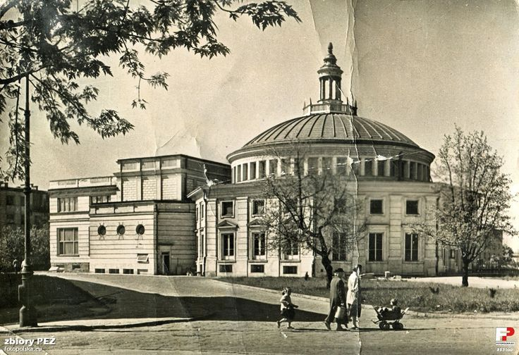 "Teatr ""Komedia"", Warszawa - 1958 rok, stare zdjęcia"