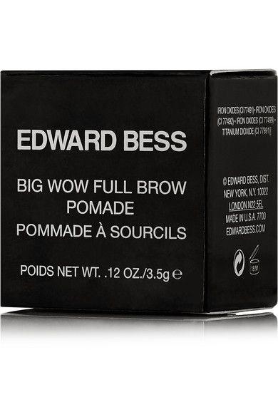 Edward Bess - Big Wow Full Brow Pomade - Rich Deep - Dark brown - one size