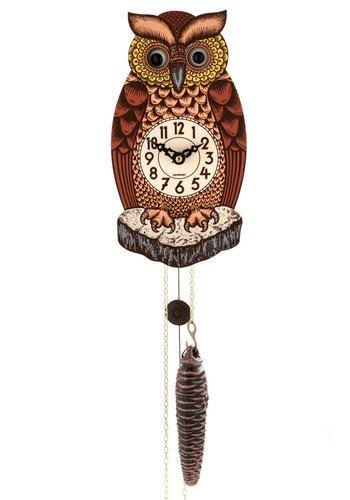 All Wise on Me Wall Clock: Owl Wall, Clocks 55 99, Owl Clocks, Home Decor, Clocks Modcloth Com, Wall Clocks, Mod Retro, Vintage Electronics, Retro Vintage