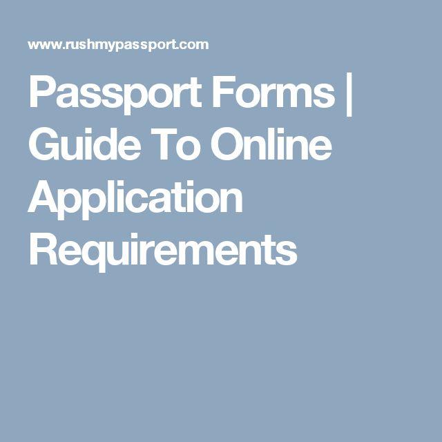 Best 25+ Online passport application form ideas on Pinterest - selective service registration form