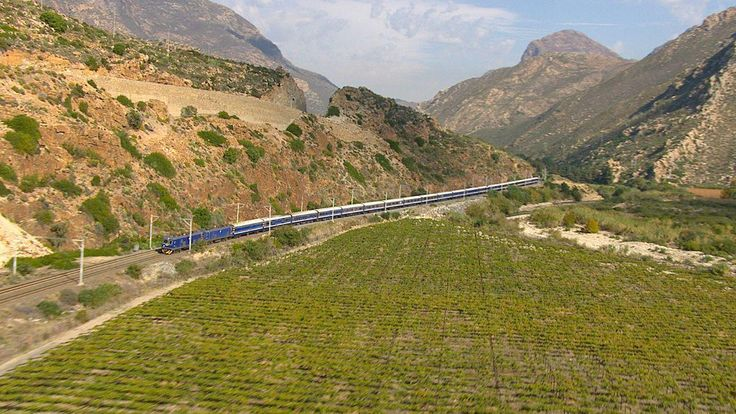 The Blue Train - scenery
