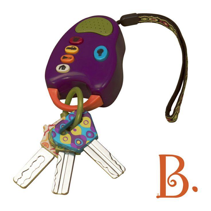 Kluczyki do samochodu Fun Keys B. Toys