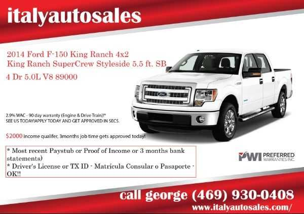 2014 Ford F 150 King Ranch 4x2 King Ranch Supercrew Styleside 5 5