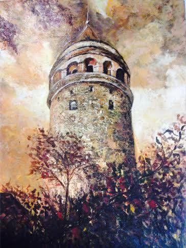 Galata Kulesi by HOBBYISLIFE on Etsy, $350.00