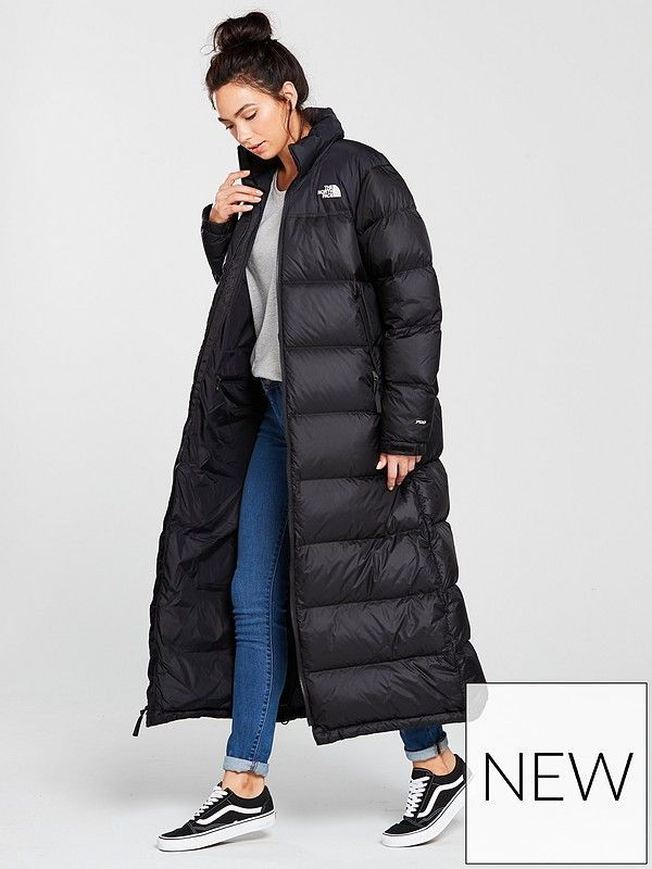 The North Face Nuptse Long Water Repellent Down Coat