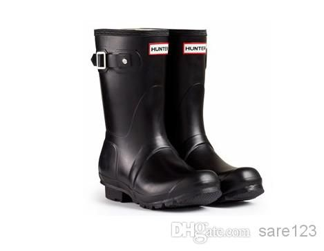 Wholesale cheap women rain boots online, Rubber   - Find best  Wholesale - Free Shipping - Ms. matte black rain boots waterproof women wellies boots woman rain boots short boot rainboots at discount prices from Chinese Rain Boots supplier - sare123 on DHgate.com.