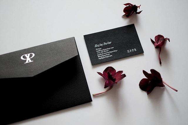 Black, branding and florals, three of my favourite things in one photo. Shot by @aesthetecollective