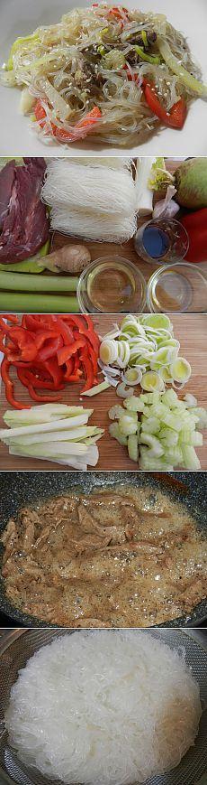 Рецепт на выходные: Фунчоза с овощами и говяжьей вырезкой | Изюминки